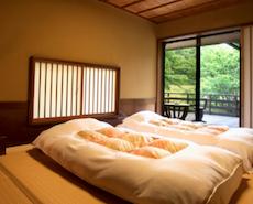 フランス語で日本を紹介する:旅館、温泉でのんびり