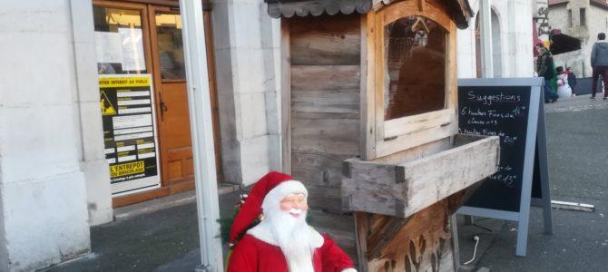 アヌシーのマルシェ・デ・ノエル!クリスマスの屋台