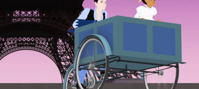 「ディリリとパリの時間旅行 」:フランス映画クラス【おすすめフランス映画】