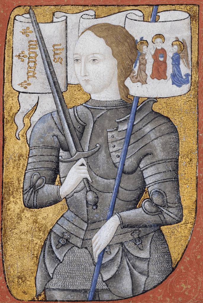 ジャンヌダルク肖像画