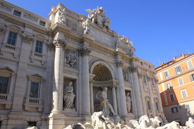 ローマのトレビの泉