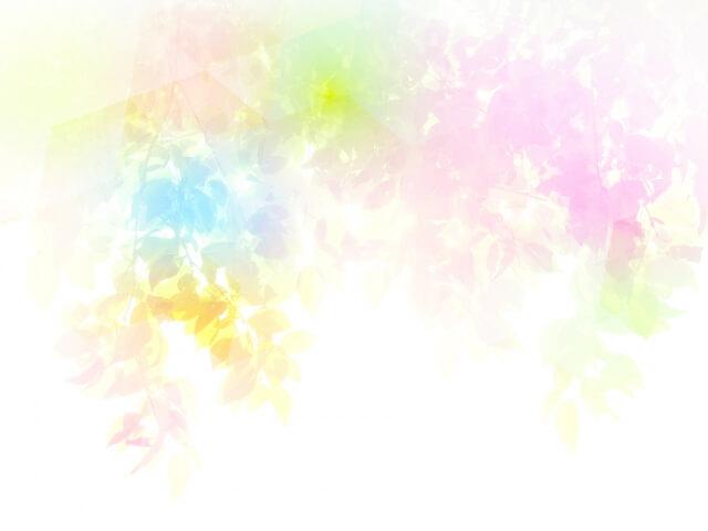 フワフワしたパステルカラーの抽象画